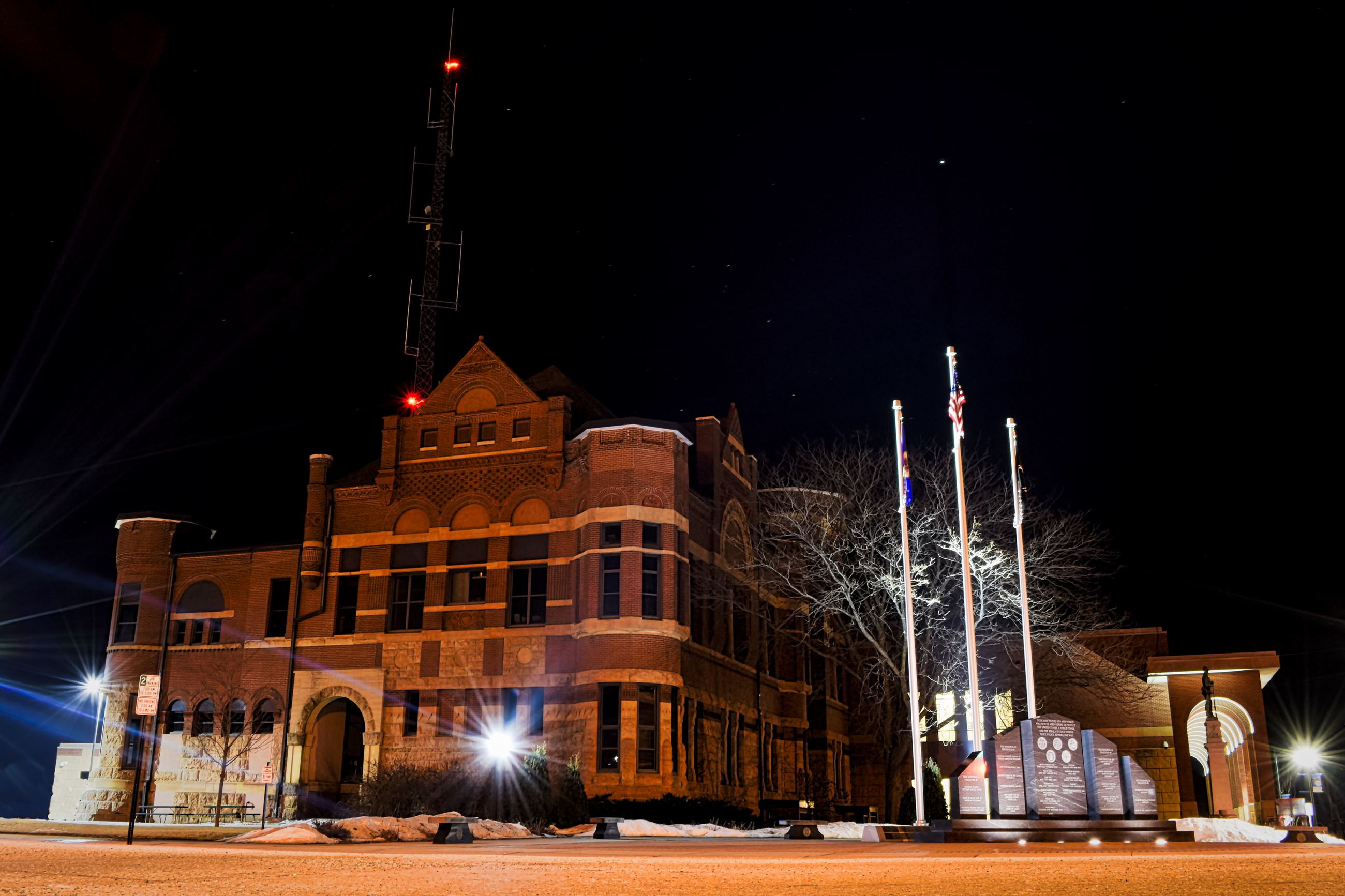 Freeborn County Courthouse and Veterans Memorial
